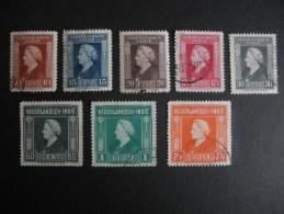 Nederland Indie NVPH  309 , 310 , 311 , 312 , 313 , 314 , 315 , 316 - Indes Néerlandaises