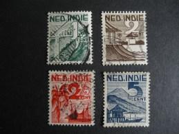Nederland Indie NVPH 317 , 318 , 318 ,  320 - Niederländisch-Indien