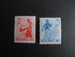 Nederland Indie NVPH 298 , 302 - Nederlands-Indië