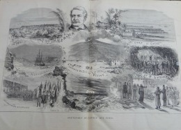 UNIVERS1881N°1345:JOUR DE L'AN A PARIS/CHEMIN DE FER DU VESUVE/PANAMA/PERCEMENT ST-GOTHARD/IRLANDE LIMERICK - 1850 - 1899