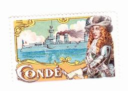 Vignette Militaire Delandre - Marine - Condé - Militario