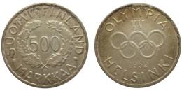 500 Markkaa 1952 (Finland) Silver - Finlande