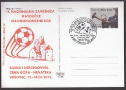 Croatia Vrbovec 2015 / Finals Of Catholic Futsal League, Bosnia And Herzegovina, Montenegro, Croatia - Football