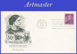 US #1051 U/A ARTMASTER FDC   Susan B. Anthony - FDC