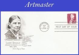 US #1293 U/A ARTMASTER FDC   Lucy Stone - FDC
