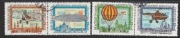 HUNGARY-1974. AIR - Aerofila(Zeppelin,Hot Air Ballon) Cpl.Set  II.  USED!! Mi : 2986-2989. - Gebraucht