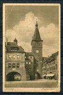 Germany 1923 Postal Card Nurinberg - USA - Germany