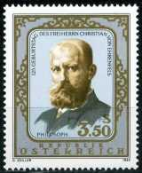 Österreich - Michel 1782 - ** Postfrisch (B) - Christian Von Ehrenfels - 1945-.... 2. Republik