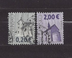 Slovakia  Slowakei  2009 Gest.  Mi 601, 604 Cultural Heritage Of Slovakia. Kulturerbe. - Slovakia