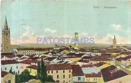50911 ITALY FORLI EMILIA ROMAÑA VIEW PANORAMIC CIRCULATED TO ARGENTINA POSTAL POSTCARD - Non Classés