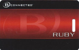 Boyd Gaming Casinos Slot Card - Full Circle Around B In Front Logo  (BLANK) - Casino Cards