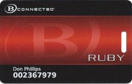 Boyd Gaming Casinos Slot Card - Full Circle Around B In Front Logo - Casino Cards
