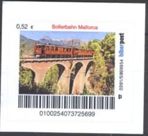 Biber Post Sollerbahn Mallorca (0,52) D101 - Privados & Locales