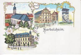 GRUSS  AUS  HERBOLZHEIM  * - Greetings From...