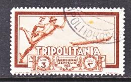 TRIPOLIANIA  C 21   (o)  GRAF  ZEPPELIN - Tripolitania