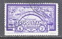 TRIPOLIANIA  C 22   (o)  GRAF  ZEPPELIN - Tripolitania