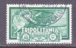 TRIPOLIANIA  C 23   (o)  GRAF  ZEPPELIN - Tripolitania