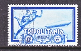 TRIPOLIANIA  C 24   (o)  GRAF  ZEPPELIN - Tripolitania