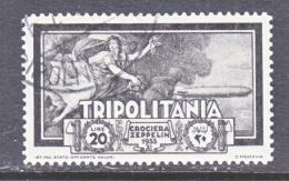 TRIPOLIANIA  C 26   (o)  GRAF  ZEPPELIN - Tripolitania