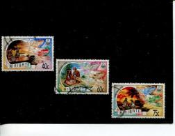 (stamp 543 - 13-06-2016)  Selection Of Used Kiribati Christmas Stamps - Kiribati (1979-...)
