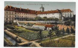 LUXEUIL LES BAINS - N° 36 - LE SEMINAIRE ET L' EGLISE - CPA VOYAGEE - Luxeuil Les Bains