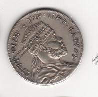 RIPRODUZIONE MONETA DELL'ETIOPIA MENELIK - MONETA FALSA - - Fausses Monnaies