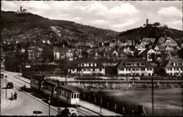 ! 1958 Ansichtskarte Weinheim, Straßenbahn, Tramway - Tramways