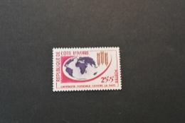 F7559- Stamp MNH Ivory Coast - 1963- SC.B16- Freedom For Hunger - Ivory Coast (1960-...)