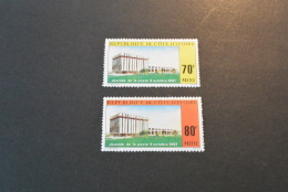 F7634- Stamps  MNH Ivory Coast  1981- SC. 608-609- Post Day - Costa De Marfil (1960-...)