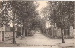 CPA Ris Orangis Avenue De Talhouet 91 Essonne - Ris Orangis