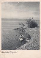 Feldpost WW2: Postcard At The Beach From Panzer-Jäger Ersatz Abteilung 7 P/m Gelnhausen 22.5.1942  (G75-78) - Militaria