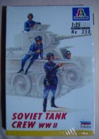 Soviet Tank Crew WW2  1/35  ( Italeri ) - Figurines