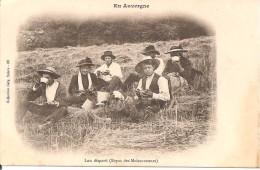 15 - REPAS DES MOISSONNEURS  (CPA D'AVANT 1905 - EDITION GELY) - Unclassified