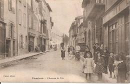 09 - PAMIERS,  L'AVENUE DE FOIX TTRES ANIMEE)