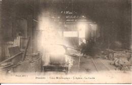 09 - PAMIERS,  USINE METALLURGIQUE - L'ACIERIE - LA COULEE