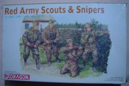 Red Army Scouts & Snipers 1/35  ( Dragon ) - Figurines