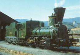 Österreichische Dampflokomotive 671
