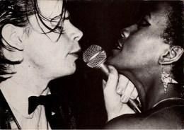 ! Ansichtskarte James White, Bonn Rheinterassen 1981 - Musique Et Musiciens