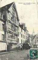 - Depts Div.-ref- GG379 - Calvados - Falaise - Vieille Maison De Bois - Batiments Et Architecture -  Carte Bon Etat - - Falaise