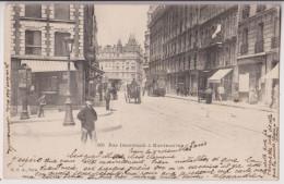 MONTMARTRE : RUE DAMREMONT - OMNIBUS - ECRITE 1903 - 2 SCANS - - Arrondissement: 18