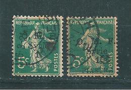 Colonie Timbres De Syrie De 1920  N°50 + 50B  Oblitérés Cote 35€ - Syria (1919-1945)