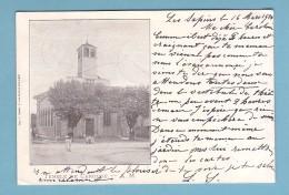 Genève, Le TEMPLE De CAROUGE // Circulée En 1901 - RARE - GE Ginevra