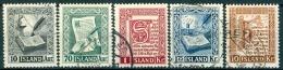 IJsland 1953 Handschriften Serie GB-USED. - 1944-... Republik