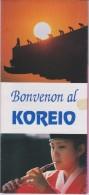 (BR) Brochure About South Korea - Brosxuro Pri Suda Koreio - Boeken, Tijdschriften, Stripverhalen