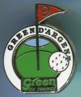 AB-GREEN D'ARGENT GREEN DE FRANCE - Golf