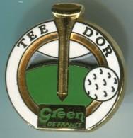 AB-TEE D'OR GREEN DE FRANCE - Golf