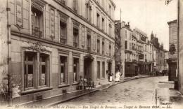 CHAUMONT, Haute Marne, France; Hotel De France , Rue Toupot De Beveaux, 00-10s   (carte Animée)--voir 2 Scans - Chaumont