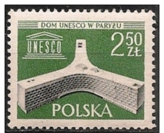 Polonia/Pologne/Poland: Nuova Sede UNESCO, Nouveau Siège De L'UNESCO, New Headquarters UNESCO - UNESCO