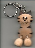 Sleutelhanger Kat Chat Cat Katze   Porte Clé Porte Clef Keyholder - Porte-clefs