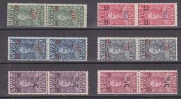 Belgisch Congo 1931 Stanley 6w Opdruk (in Paar) ** Mnh (30369) - Belgisch-Kongo